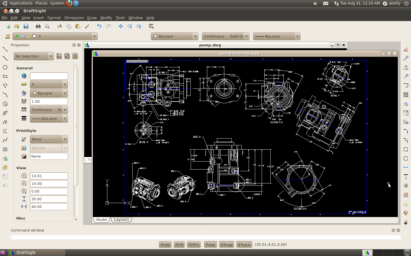 Free Autocad Clone Draftsight Coming To Linux Omg Ubuntu