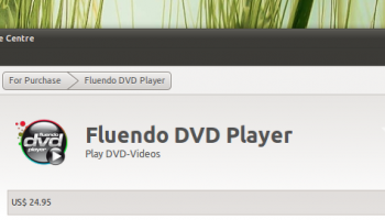 Fluedno for sale in the Software Centre