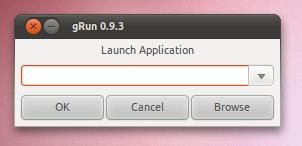 grun in Ubuntu Unity