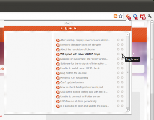 Ask Ubuntu Google Chrome addon