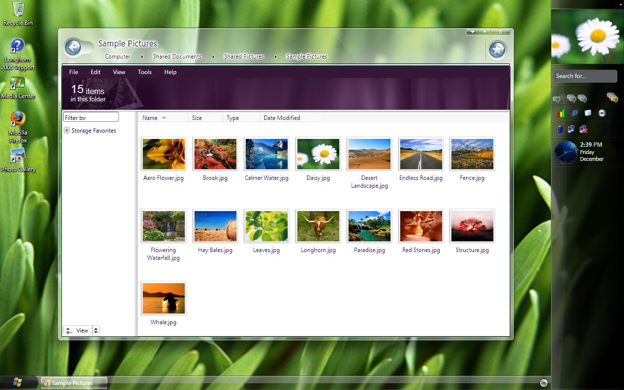 windows 7 theme wallpaper folder