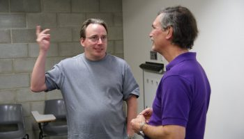 Linus Torvalds at LCA 2011