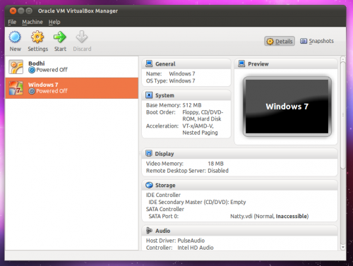 Virtualbox 4.0 in Ubuntu