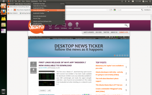 Firefox 4 with Ubuntu 11.04 AppMenu support