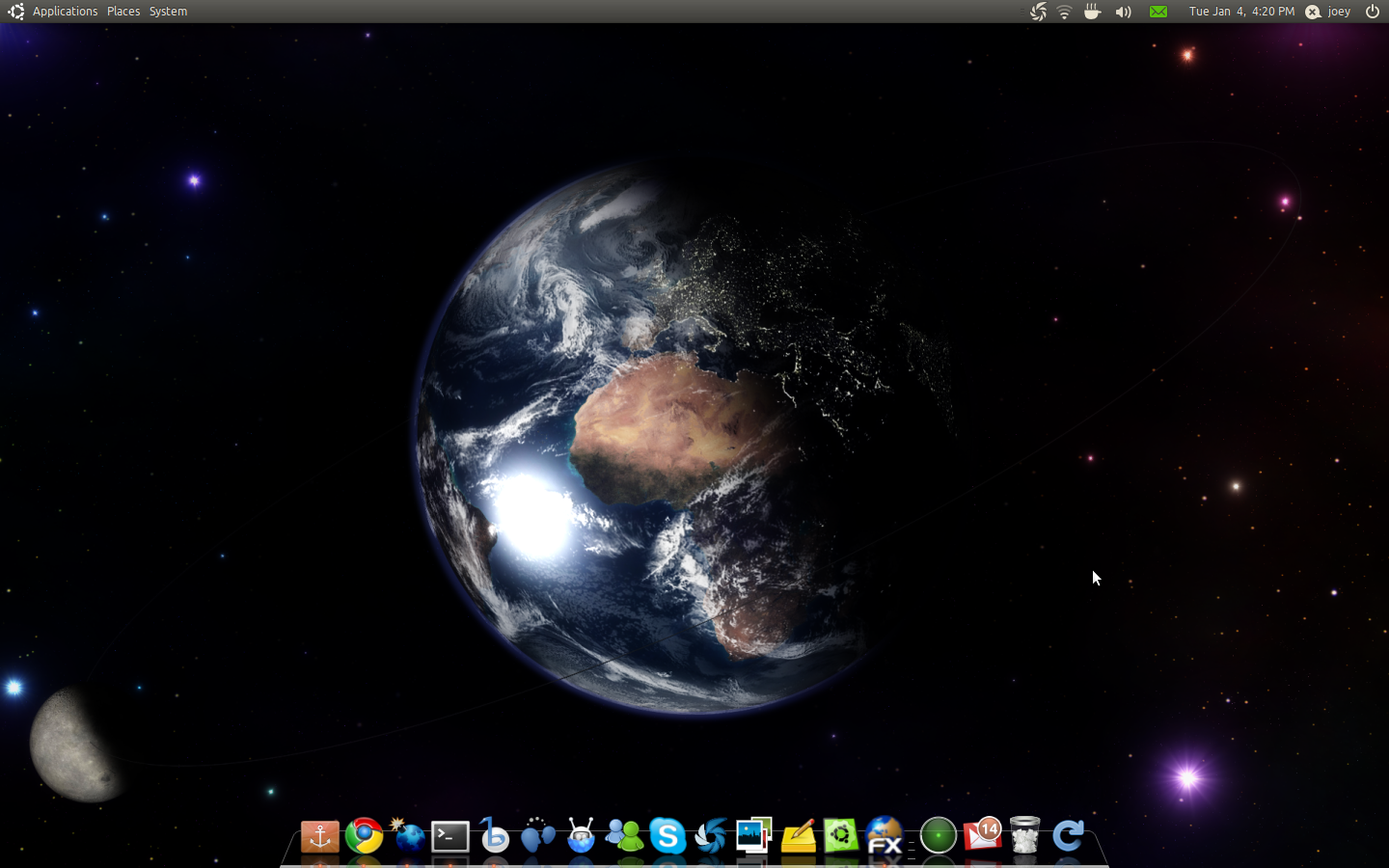 hq real-time earth wallpaper for ubuntu: xplanetfx - omg! ubuntu!