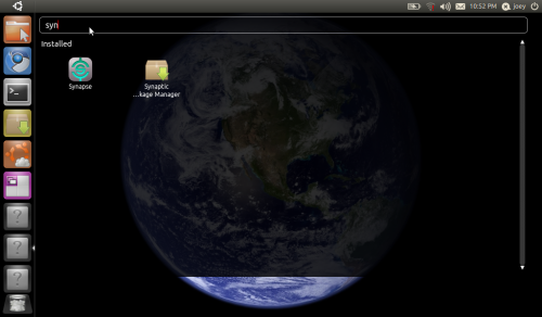 Unity Application places in Ubuntu 11.04