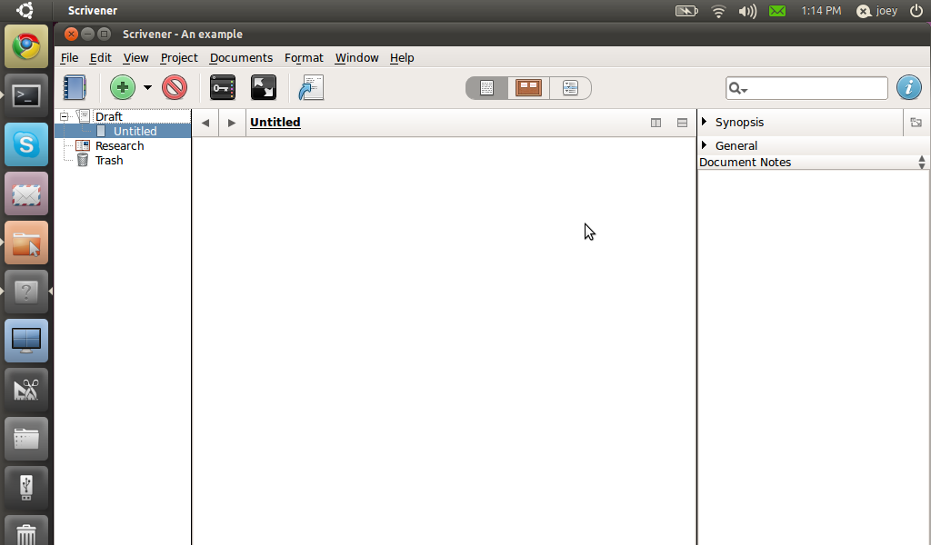 scrivener Scrivener is a content-generation tool for writers that allows you to concentrate on composing and structuring long and difficult documents while it gives you complete control of the formatting.