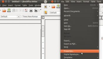 Global menu support for LibreOffice