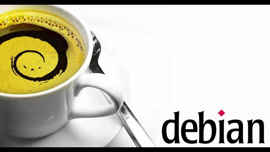 debian coffee cut edit