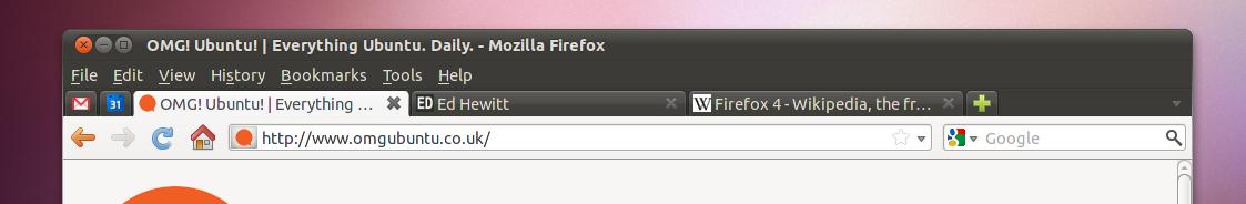 Firefox 4 Nav Bar