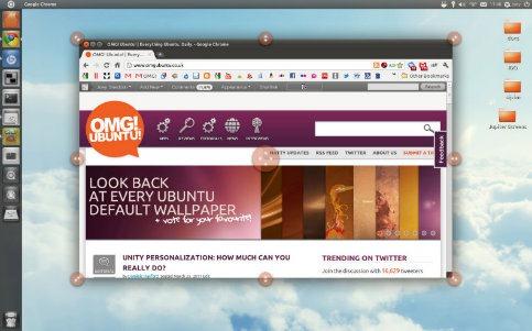 unity desktop love handles