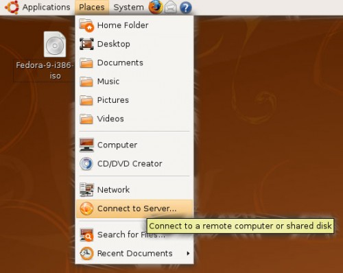 "Places Menu in the ""classic"" Ubuntu desktop"