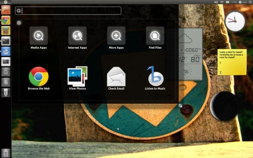 KDE Plasma Widgets on the Ubuntu desktop
