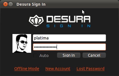 Login Form w Avatar