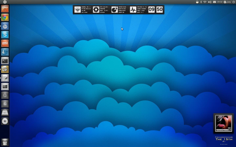 1366x768 simple ubuntu desktop - photo #30