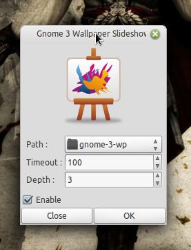 GNOME 3 Wallpaper Slideshow App