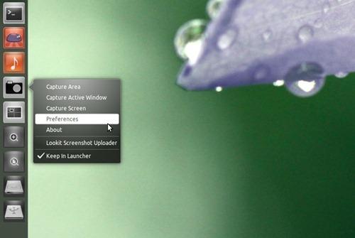 LookIt gets a Unity quicklisti in Ubuntu 11.04