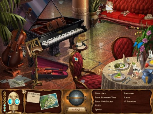 The Clockwork Man - Hidden Object Game