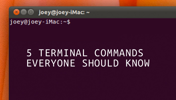 5 Terminal Commands You Think Every Linux User Should Know