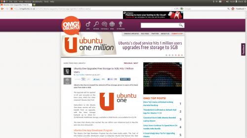 fullscreen in Ubuntu 11.10 - minimalism to rival OS X