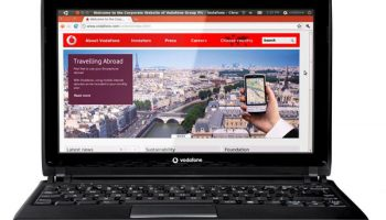 The Ubuntu Powered 'Vodafone Webbook' Launched
