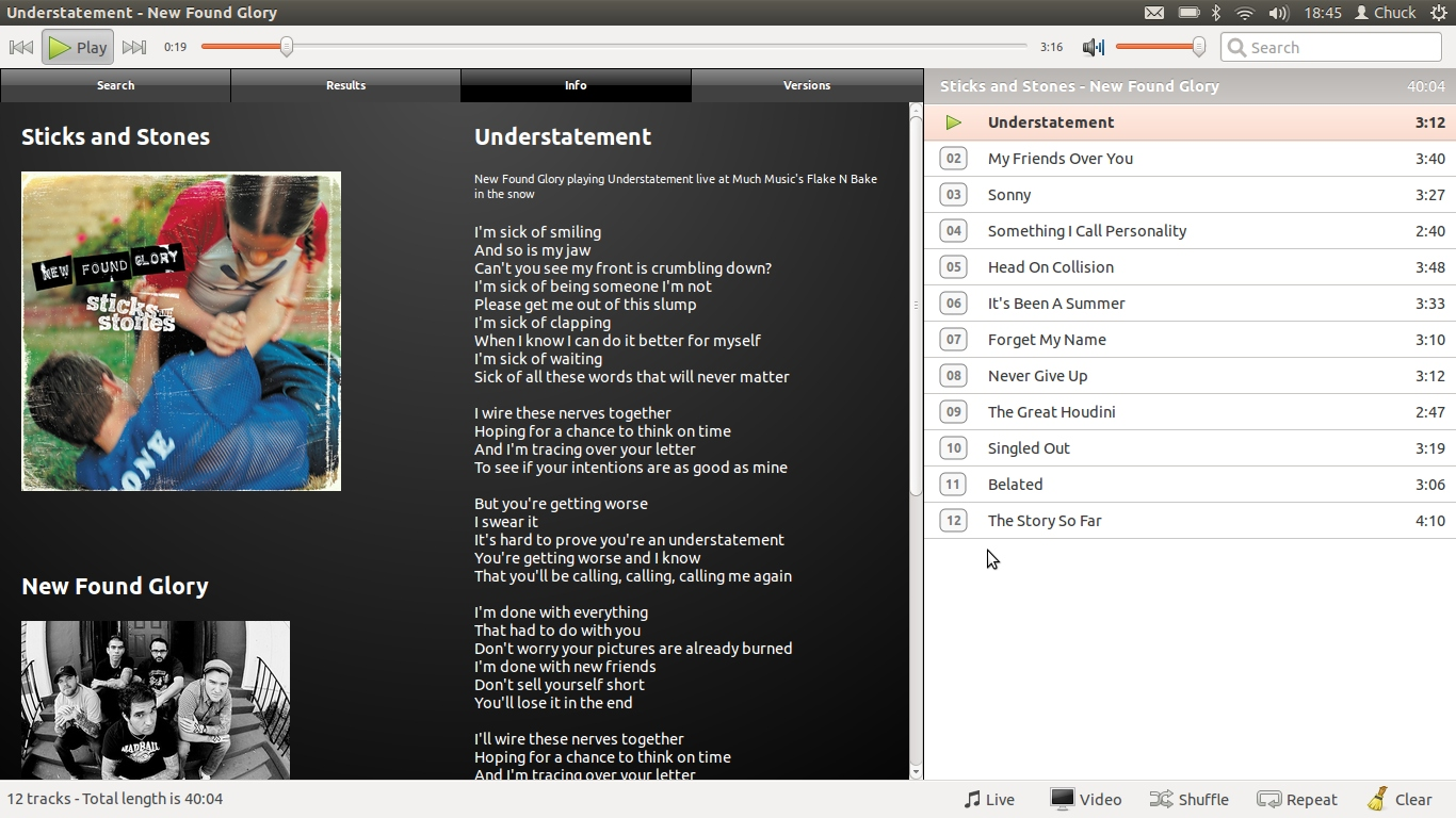 Musictube desktop app uses youtube as a music library omg ubuntu