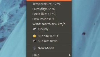 My Weather Indicator in Ubuntu 11.10