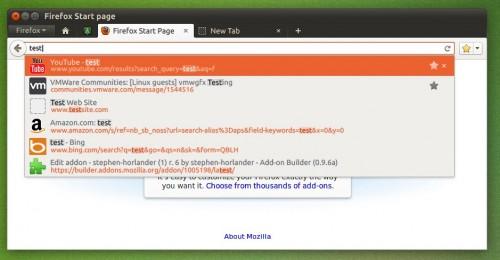 LocationBar Results Design for Firefox 11