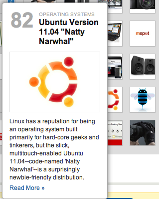 ubuntu on pcworld list