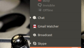 Skype Messaging Menu Plugin Gets Updated