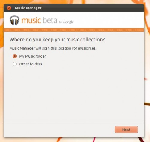 Google Music Manager in Ubuntu 11.10