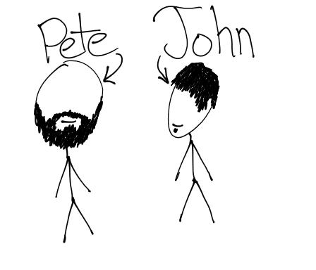 Pete & John