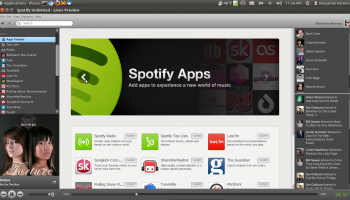 Spotify on Linux Beta with Apps