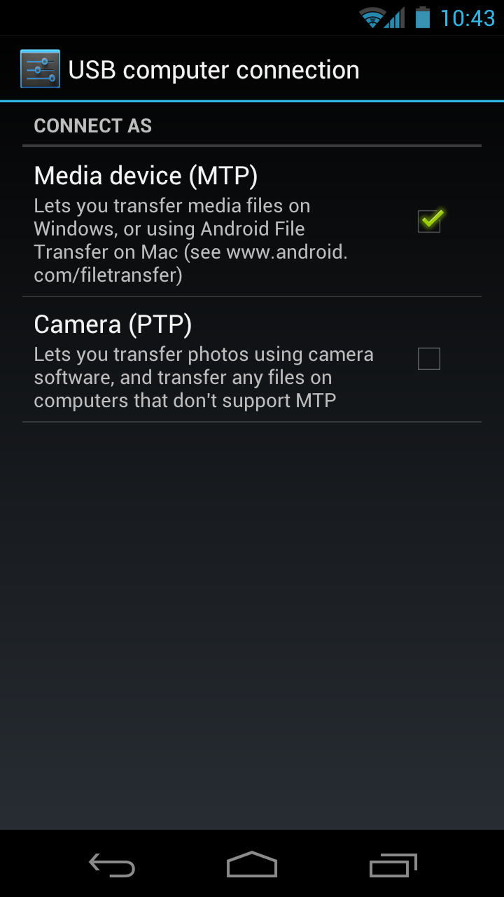 How to] Connect your Android Ice Cream Sandwich Phone to