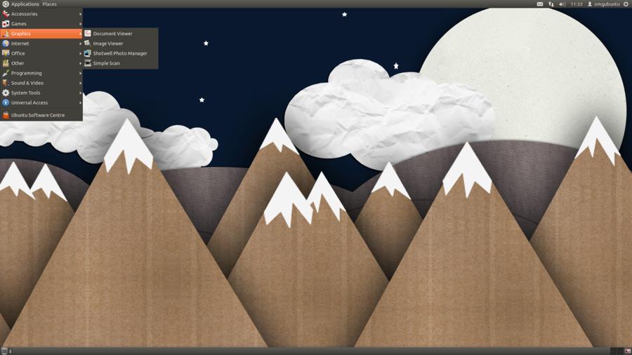 GNOME 2 style desktop in Ubuntu 11.10