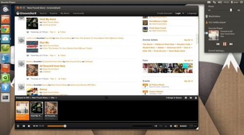 grooveshark in nuvola 1.0