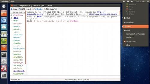Smuxi IRC Client