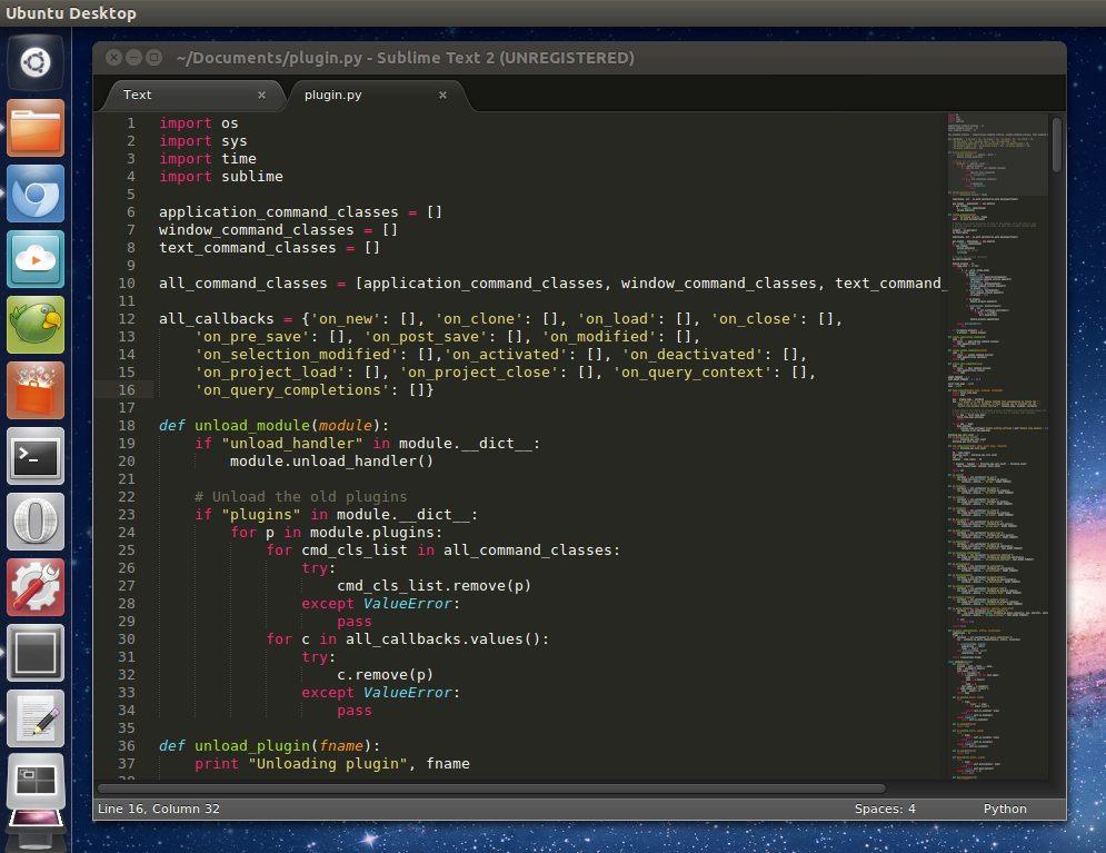 Sublime Text 2 - A Fast & Fancy Text Editor - OMG! Ubuntu!