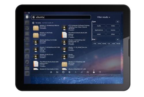 ubuntu tablet design
