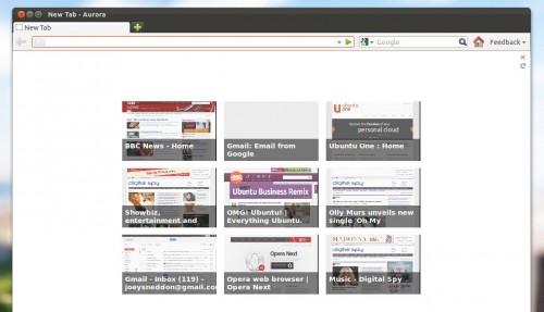 Firefox Speeddial