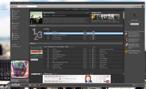 Spotify on Linux with script