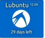 Lubuntu Countdown Banner