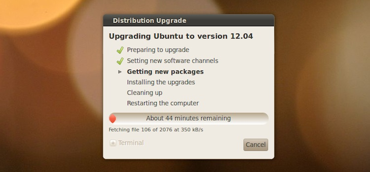 LTS to LTS Upgrade: Slow