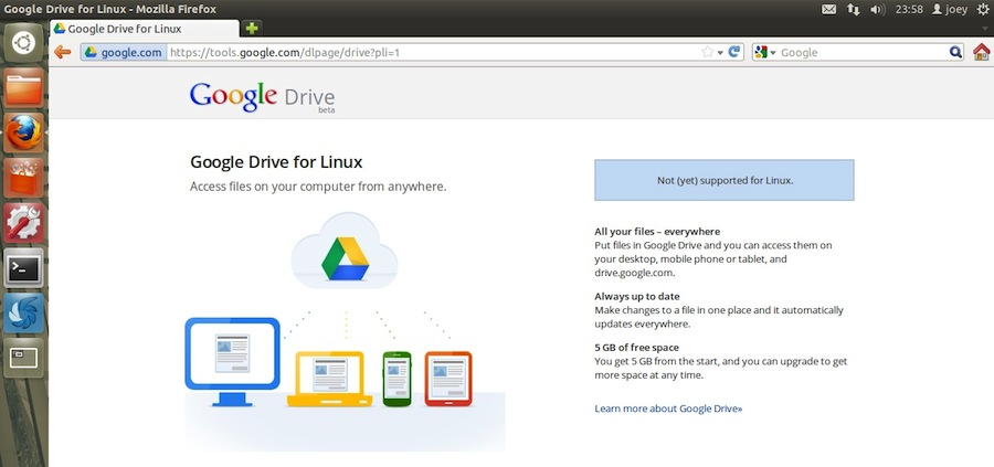Google Drive for Linux - Happening