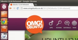 Google Chrome in ubuntu 12.04