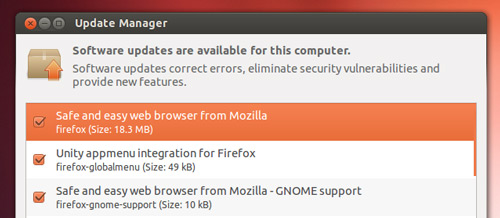 Firefox 12 Update for Ubuntu users