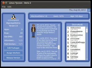 Linux Tycoon Beta 2