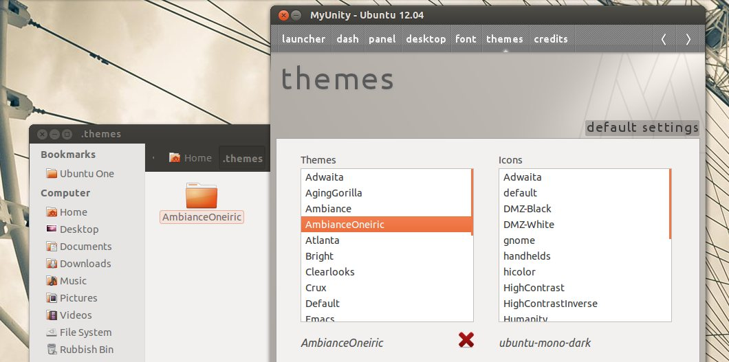 Light themes menu fix