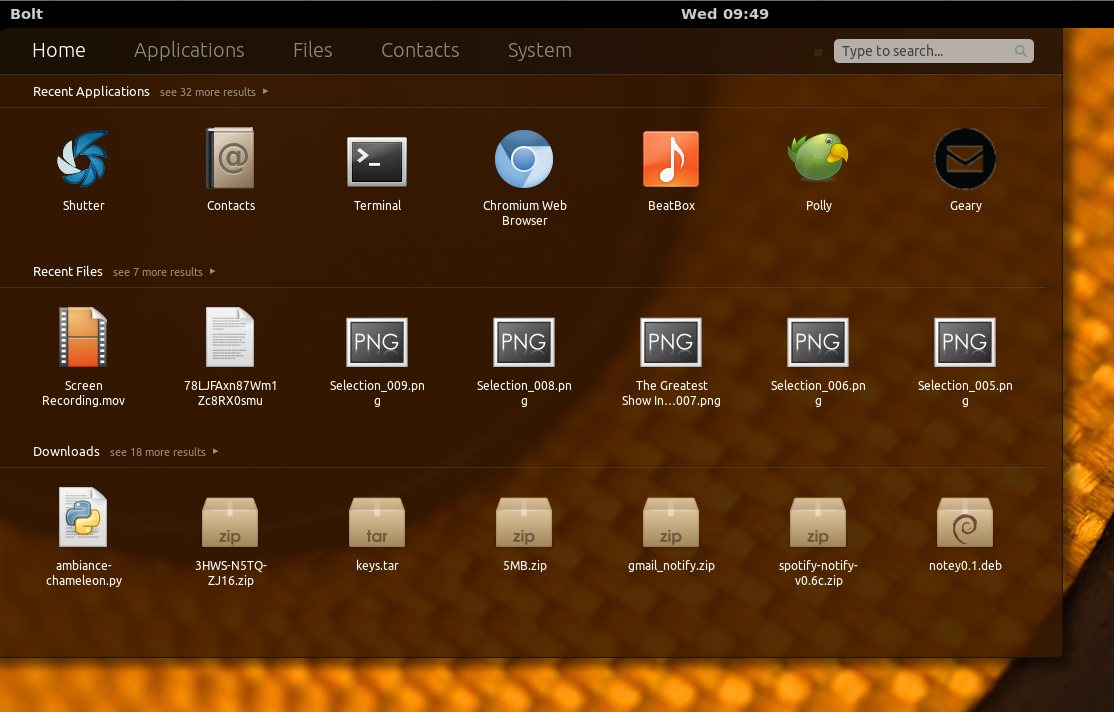 gnome shell dash extension in Ubuntu 12.04