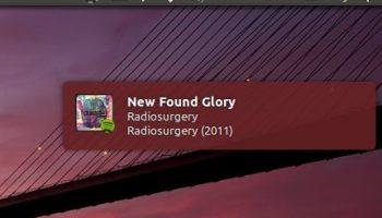Spotify Notify-OSD